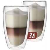 """Termo skleničky Maxxo DG832 """"Cafe Latte"""" 38cl/2ks"""