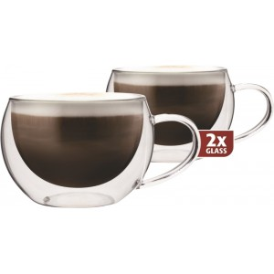 "Termo skleničky Maxxo ""Cappucino"" 30cl/2ks"