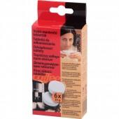 6 tabletek pro odstraňování vodního kamene do výrobníků kávy