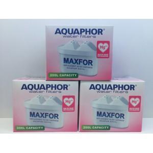 Aquaphor B100-25 MAXFOR (Mg2+) 3ks - filtr, patrona na vodu (i pro BRITA MAXTRA, LAICA Bi-flux)