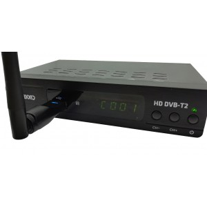 MAXXO set-top box T2 HEVC/H.265 + WIFI