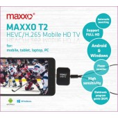 Maxxo T2 HEVC/H.265 TV Mobile HD tuner