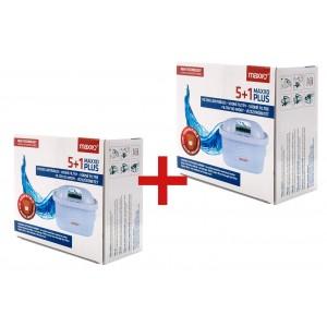 Náhradní filtry MAXXO+ vodní filtry 10+2 ks